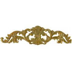 Fregio decorativo finitura oro anticato L45,5xPR1xH11,5 cm