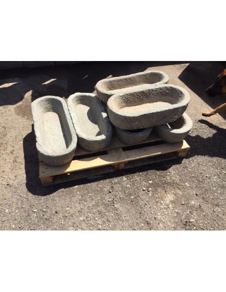 Vasca in pietra antica, misure assortite