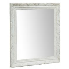 Specchiera da appendere verticale/orizzontale L64xPR4xH74 cm finitura bianco anticato