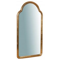 Specchiera da parete in legno finitura foglia oro anticato Made in Italy L40XPR2XH79 cm - Biscottini.it