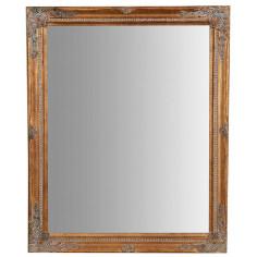 Specchiera da appendere verticale/orizzontale 47x3x57 cm finitura oro anticato