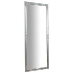 Specchiera da appendere verticale/orizzontale 72x3x180 cm finitura argento anticato