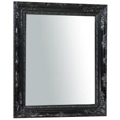 Specchiera da appendere verticale/orizzontale 64x4x74 cm finitura nero lucido