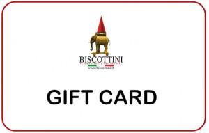 Gift Card Biscottini